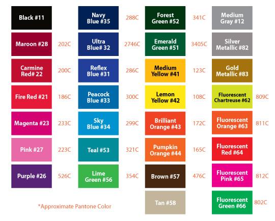 Custom Vehicle Magnets Colors